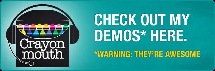 Listen to Voice Over Demos