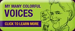Voices for Voice Over Marty Morgan Crayon Mouth